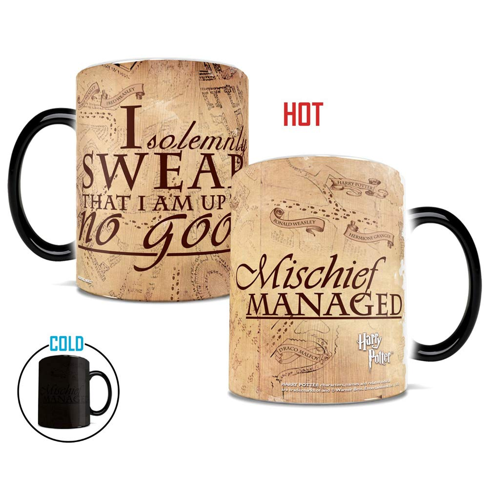 Morphing Mugs Harry Potter Heat Reveal Ceramic Coffee Mugs