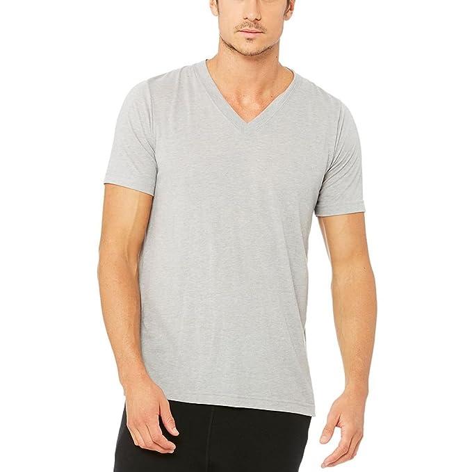 Amazon.com: Alo Yoga Hombre Core cuello en V Tee, S: Clothing