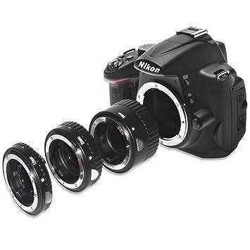 Full Autofocus - Ensemble de 3 Tubes-allonge Macro Auto AF pour Nikon D7200  D7100 71c75bd2a46c