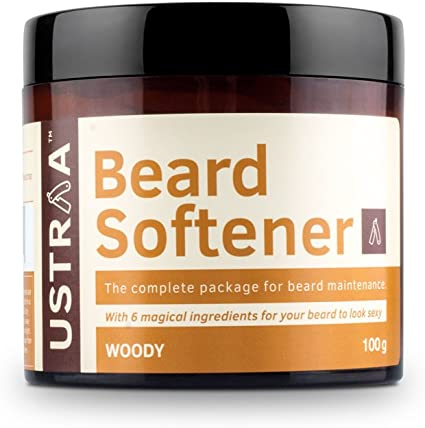 Ustraa Beard Softener for Beard Care, 100g Aftershave Treatments at amazon