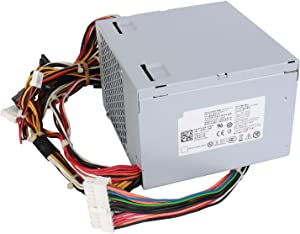 S-Union N375P-00 K8956 375W Power Supply Replacement PSU for Dell Dimension 9100 9150 9200 XPS 400 410 420 430 Precision Workstation 380 390 T3400 Desktop (DT) Systems L375P-00 N375E-01 KH624