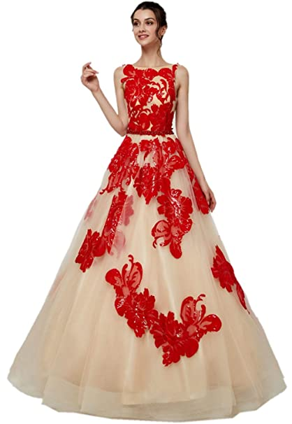 Darcy74Dulles Women\'s Prom Dresses Long Elegant Ball Gown ...