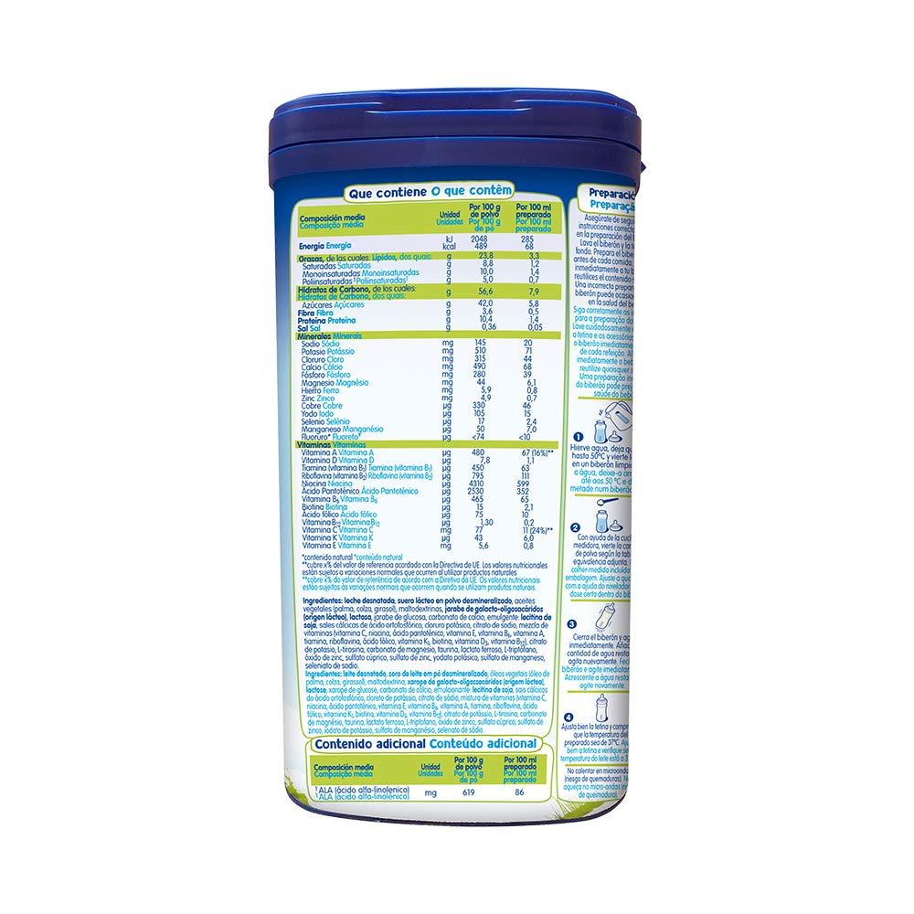 MILTINA 2 PROBALANCE, leche de continuación a partir de 6to mes,750g: Amazon.es: Alimentación y bebidas