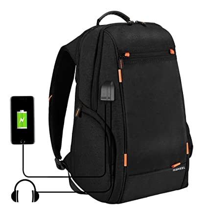 60b04426bc63 HAWEEL Outdoor Multi-function Solar Panel Power Breathable Casual Backpack  Laptop Bag School Bookbag for