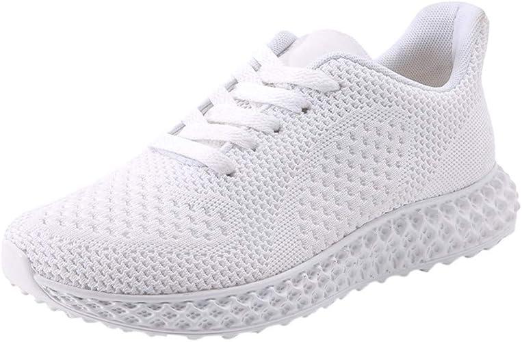 KUDICO Chaussure de Course Homme Femme Couple, Mesh Protection Confortable Léger Respirante Entraînement Chaussure Fitness Sneakers Basket Chaussures