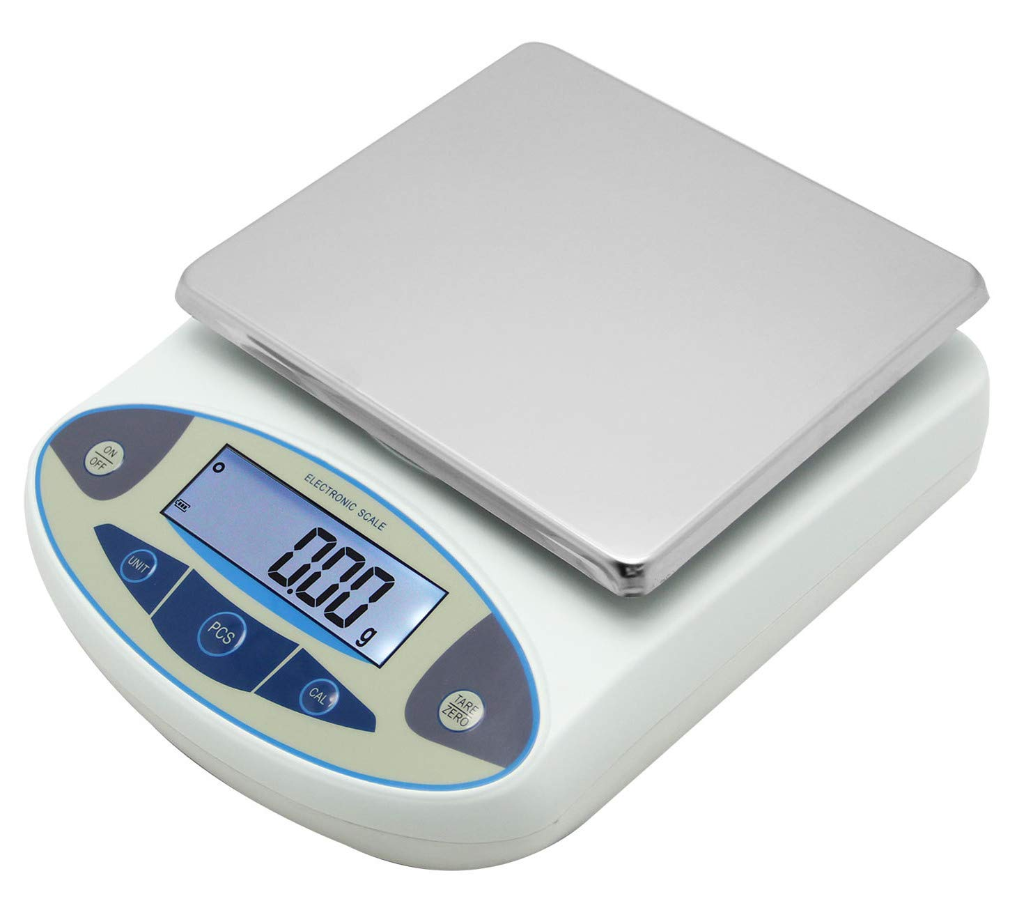 CGOLDENWALL High Precision Lab Analytical Electronic Balance Digital Precision Scale Laboratory Precision Weighing Electronic Scales Balance Jewelry Scales Gold Balance Kitchen Scales (3000g, 0.01g) by CGOLDENWALL