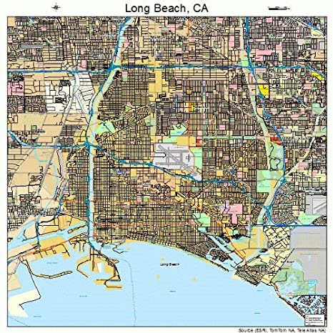 Map Of Long Beach Ca on