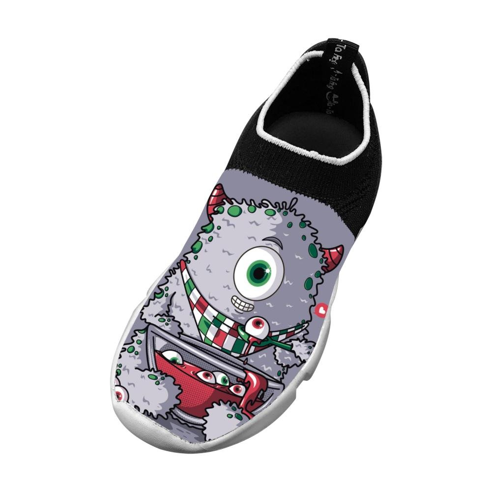 Cyclops Loves Eyeball Soup Flyknit Shoes Light Sports Transform Running Shoes For Kids