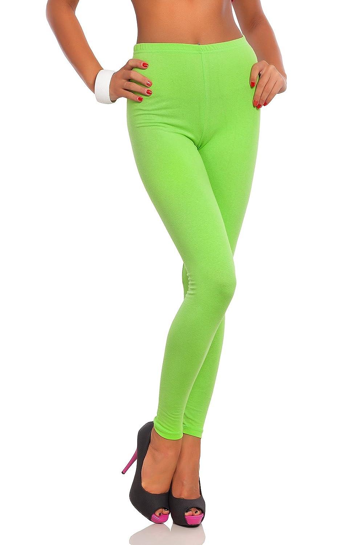 Futuro Fashion Full Length Cotton Leggings Active Pants Trousers FULL-US