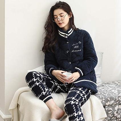 WANG-LONG Ropa De Dormir Batas Mujer Camisón Conjunto De Pijamas Camisones Ropa De Noche