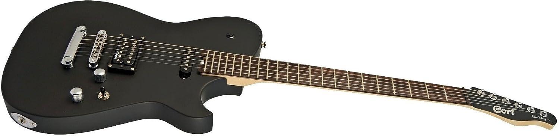 Cort MBC-1 Matthew Bellamy - Guitarra eléctrica, color negro mate