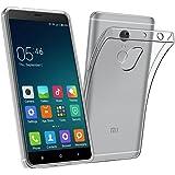 Xiaomi Redmi Note 4 Case, TopACE Ultra Thin Transparent Soft Gel TPU Silicone Case Cover for Xiaomi Redmi Note 4 / Note 4X (Clear)