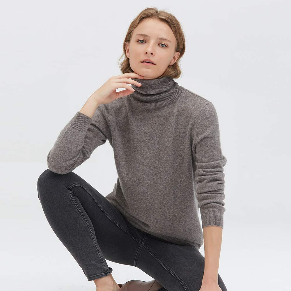 LilySilk 100% Pure Cashmere Sweater for Women Long Sleeve