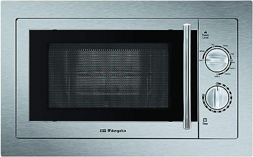 Orbegozo MIG 2033 - Microondas con grill integrable full INOX, 20 ...
