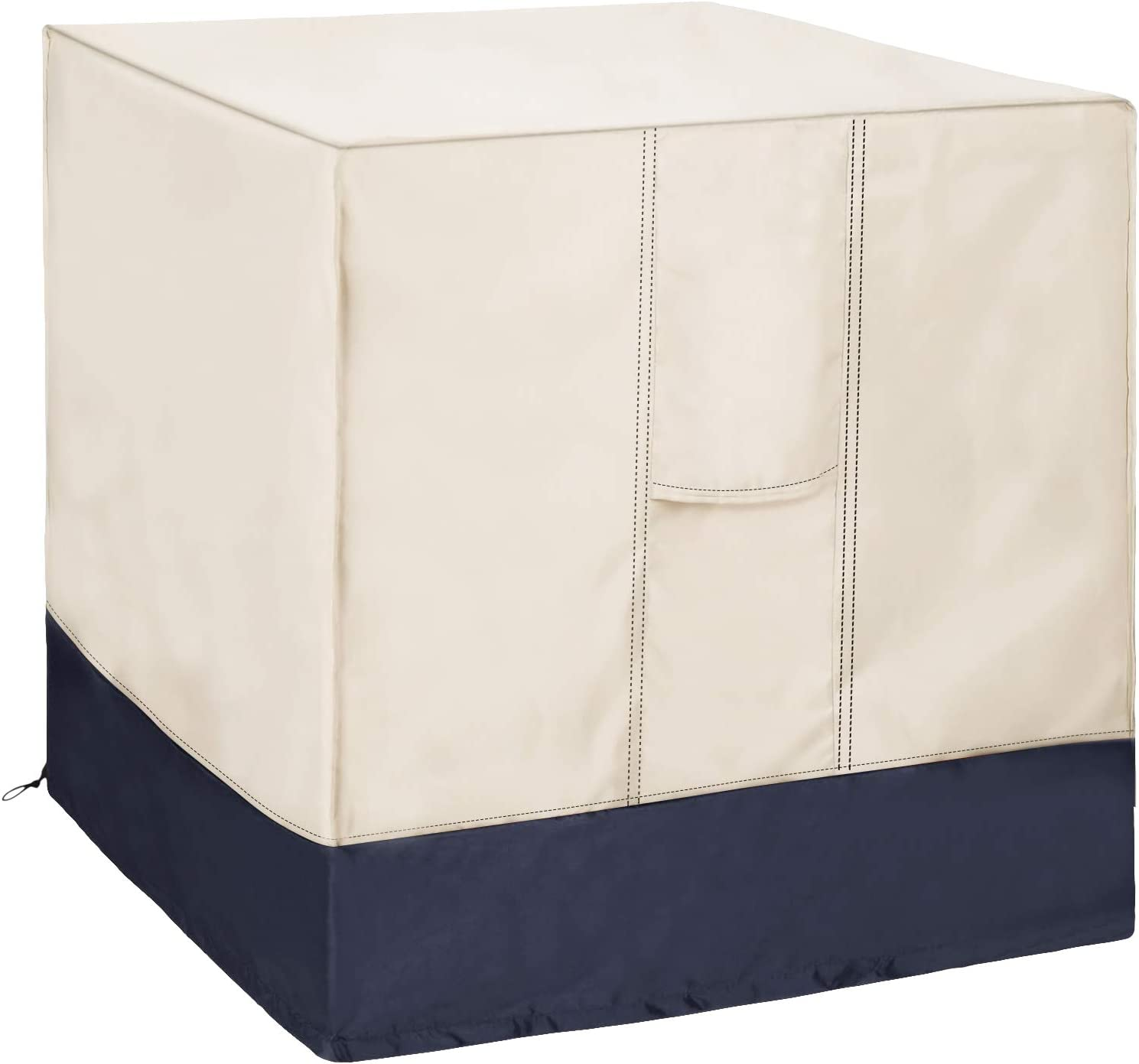 Foozet Air Conditioner Cover for Outside Units, AC Cover for Outdoor Central Unit Square Fits up to 36 x 36 x 39 Inches