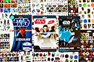 Star Wars Stickers Variety Pack: 885 Stickers Featuring Your Favorite Star Wars Characters - 12 Sticker Sheets With Specialty Licensed Sticker