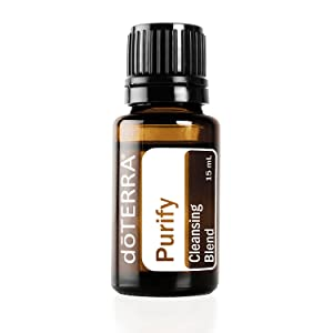 doTERRA - Purify Essential Oil Cleansing Blend - Refreshing Aroma Clears Air and Replaces Unpleasant Odors, Protects Against Environmental Threats; for Diffusion or Topical Use - 15 mL