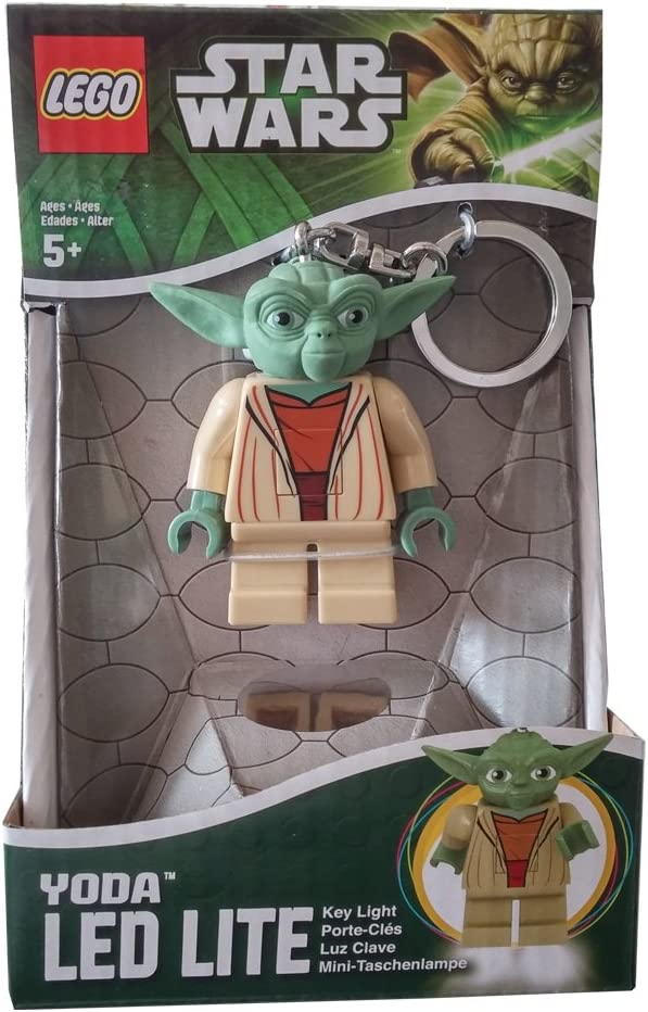 Lego Star Wars Portachiavi con Luce Torcia Yoda