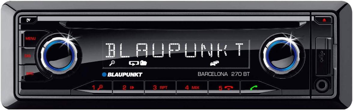 Blaupunkt 2001017123464 Barcelona 270 Bt Auto Radio Schwarz Heimkino Tv Video