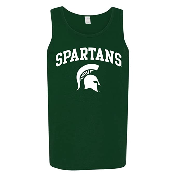 NCAA Arch Logo, Team Color Tank Top, College, University