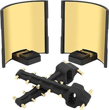 Opinión sobre Annjom Amplificador de señal para Drones, Antena de Control Remoto para Drones, previene arañazos, diseño de Hebilla de plástico, Amarillo para Drone Mavic 2