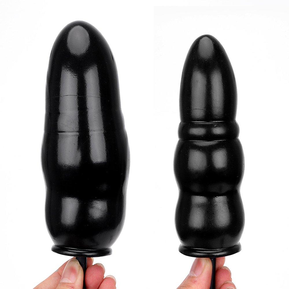 Bomba hinchable anal plug expandible Butt Plug silicona masajeador anal dilatador juguete sexual para mujeres hombres adultos productos