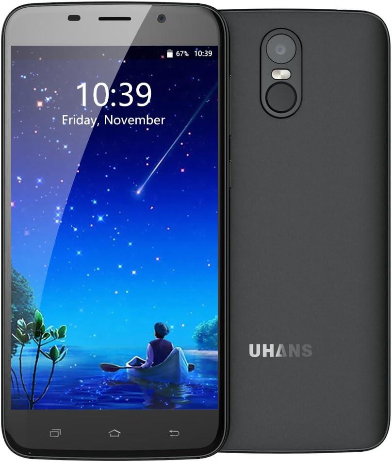 UHANS A6 3G teléfono Móvil Libres, Smartphone Baratos 5.5 Pulgadas ...