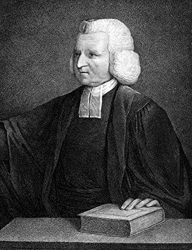 - Charles Wesley (1707-1788) Nenglish Methodist Cleric And Hymn Writer Stipple Engraving English 18Th Century Poster Print by (24 x 36)