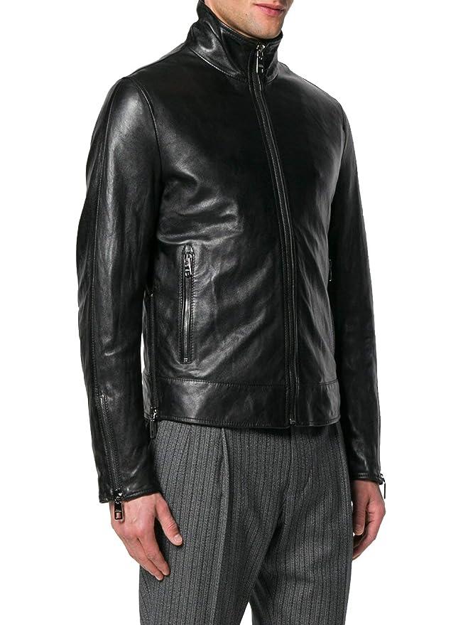 Dolce & Gabbana - Chaqueta - para Hombre Negro Talla de la Marca 50: Amazon.es: Ropa y accesorios