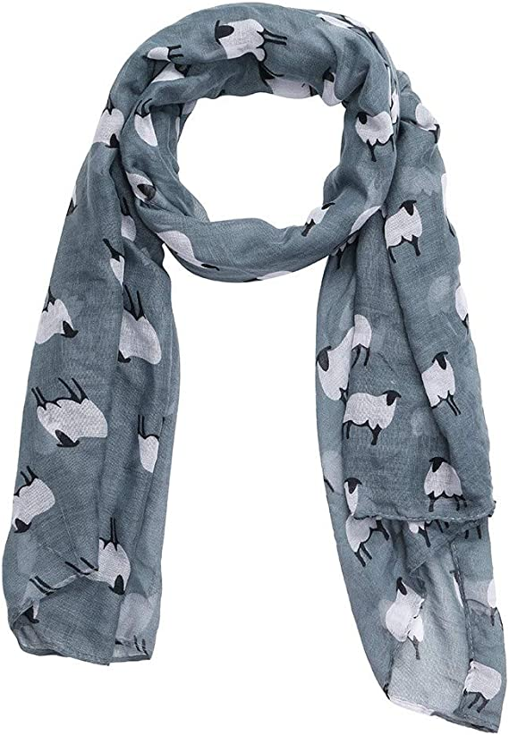 Poppy Print Floral Women Fashion Bali Scarf Wrap Scarves Long Soft Warm UK