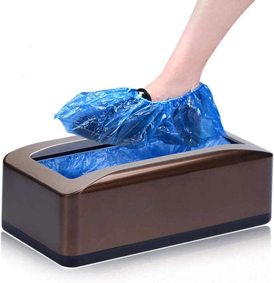 HUDEMR Tapa de la Zapata de la máquina Zapato automático dispensador de la Cubierta Moderna del Zapato Cubiertas de la máquina for Médica Casa Comprar Shoe dispensador de la Cubierta