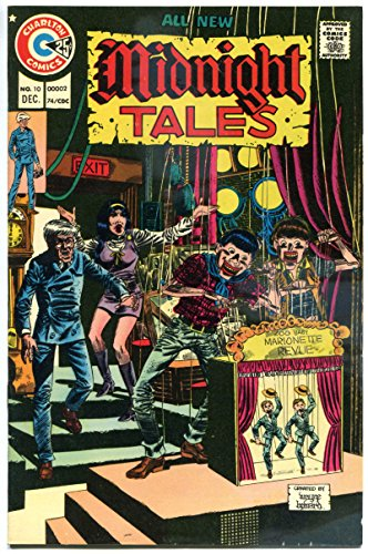 MIDNIGHT TALES #10, VF, Marionette, Horror, 1972 1974, more Charlton in store