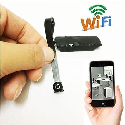 Electro-Weideworld P2P Wifi Oculta Cámara Espia inalámbrica DIY Module Espia Nanny Cam Mini Cámara