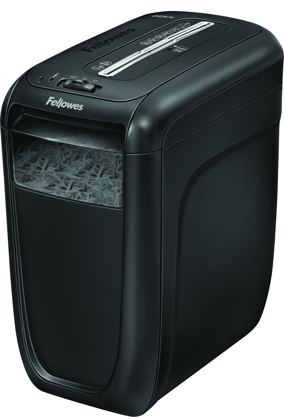 Fellowes Powershred 60Cs 10-Sheet Cross-Cut Paper and Credit Card Shredder with SafeSense Technology (4606001)