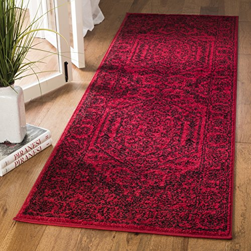 Safavieh Adirondack Collection ADR108F Red and Black Oriental Vintage Runner (2'6