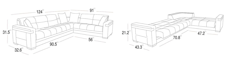 Amazon.com: ISTIKBAL - Sofá de salón multifuncional ...