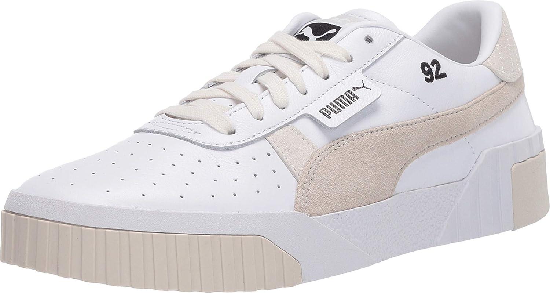 Puma Cali Leather Suede X SG Puma WhiteSilver Gray 8
