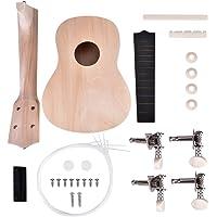 Ukulele DIY Kit, Make Your Own Paintable 21 inch 4 String Hawaii Ukulele