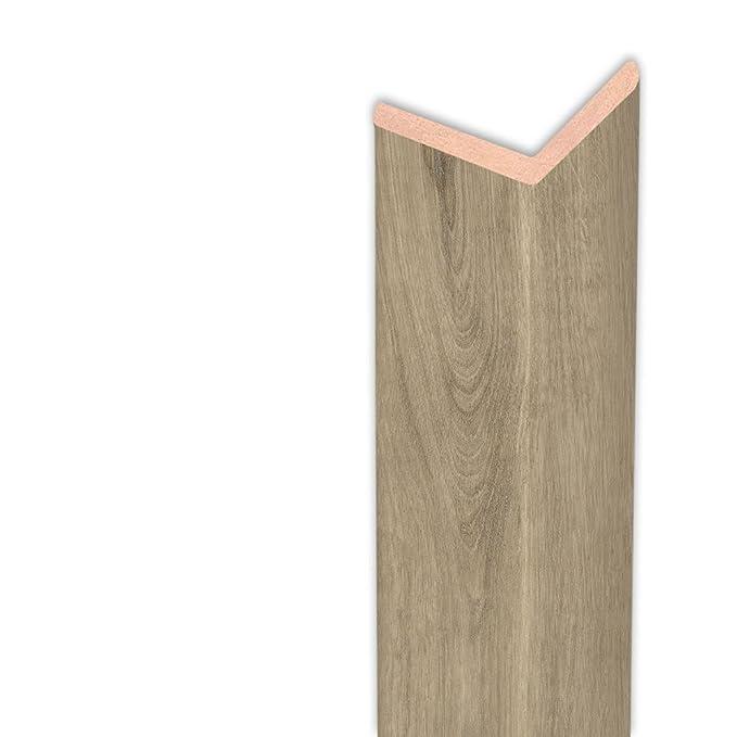Winkelleiste Schutzwinkel Winkelprofil Tapeten-Eckleiste Abschlussleiste Abdeckleiste aus Kiefer-Massivholz 2400 x 13 x 13 mm