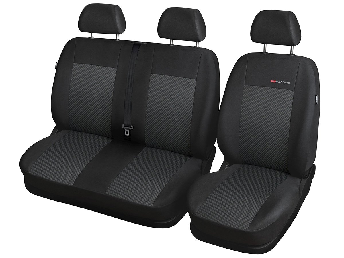2+1 p1 Volkswagen T6 Sitzbez/üge nach Ma/ß Autoplanen perfekte Passform Schonbez/üge Sitzschoner Velour Strickpolster /®Auto-schmuck