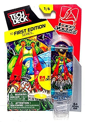 Tech Deck First Edition Series 1/6 LandYachts Skateboards Peace Maker Fingerboarding