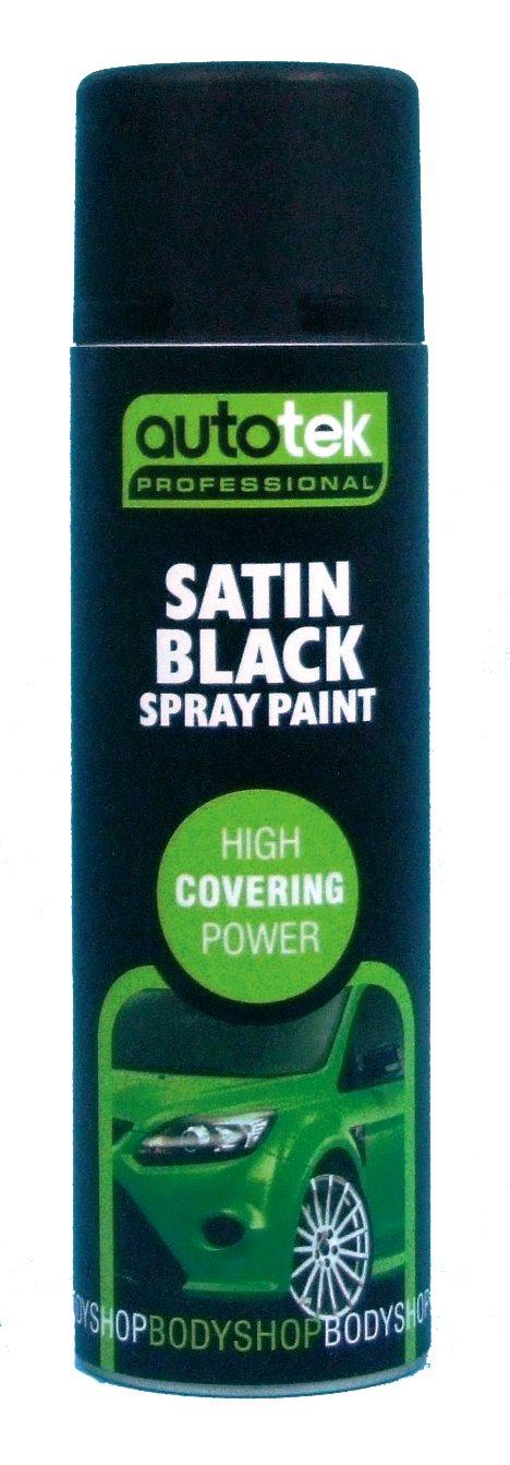 Autotek AT000SB500 500ml Satin Black Paint