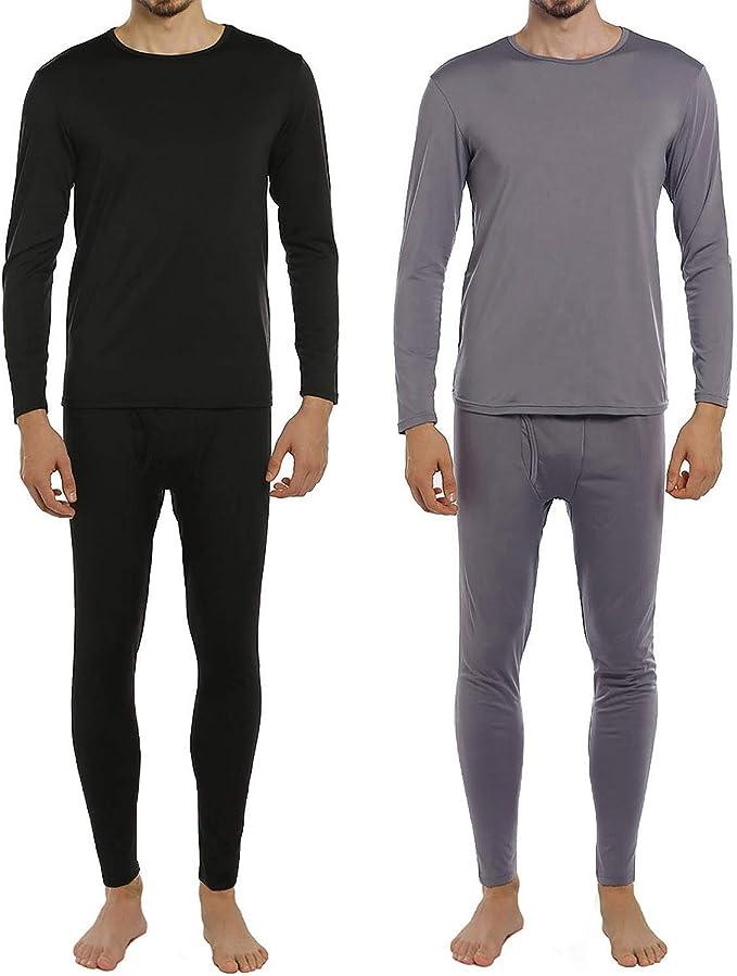 Amazon.com: ViCherub - Conjunto de ropa interior térmica ...