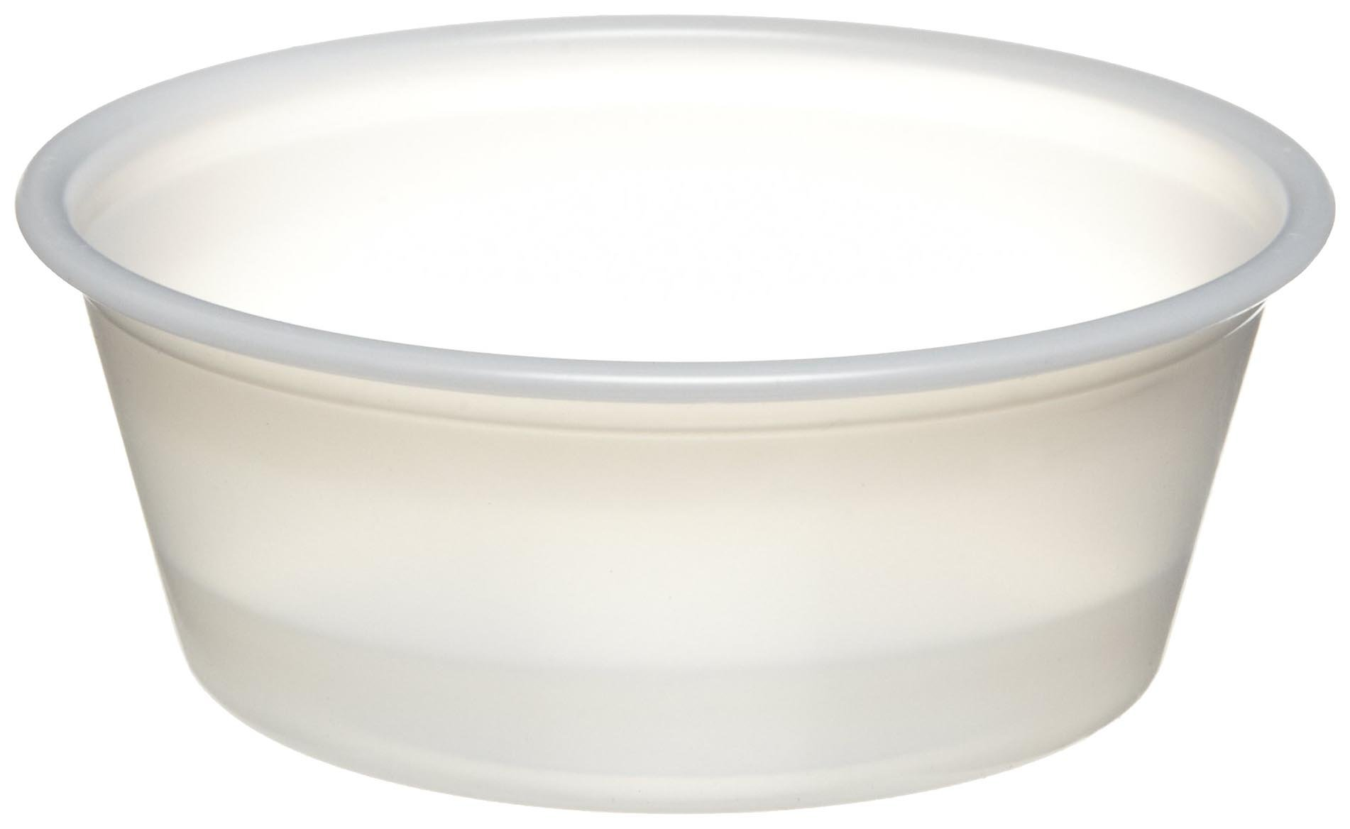 Dart P150N 1.5 oz Translucent PS Portion Container (Case of 2500) by Solo Foodservice