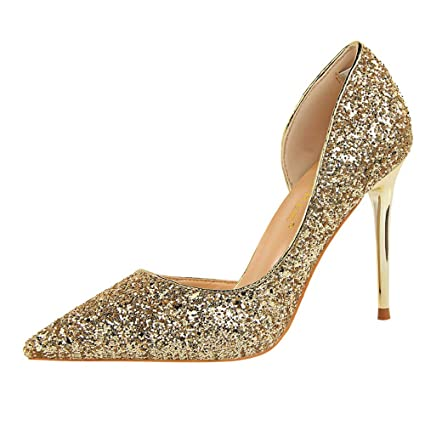Talons Hauts Femme,Xinantime Femmes Pompes Extrem Sexy Talons Hauts Chaussures  Femme Talons Mince Chaussures 1c215982be8