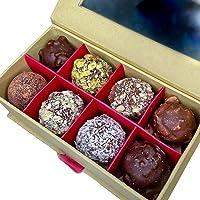 RAWAY Organic Chocolate Truffle Balls   Sugar-Free, Vegan, Plant Based, Gluten Free, Dairy Free, Soy Free, HFCS Free…