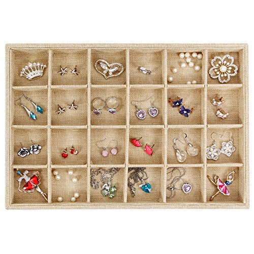Stackable Jewelry Tray Display Organizer