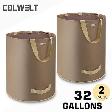 Amazon.com: Colwelt - Bolsas de basura para jardín, césped ...