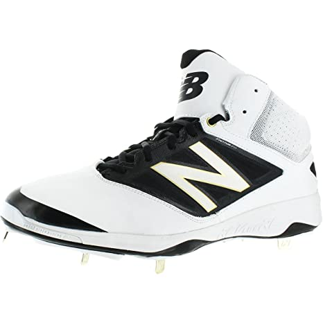 9ed470f572 Amazon.com: New Balance Men's M4040v3 Mid Metal Baseball Cleats ...