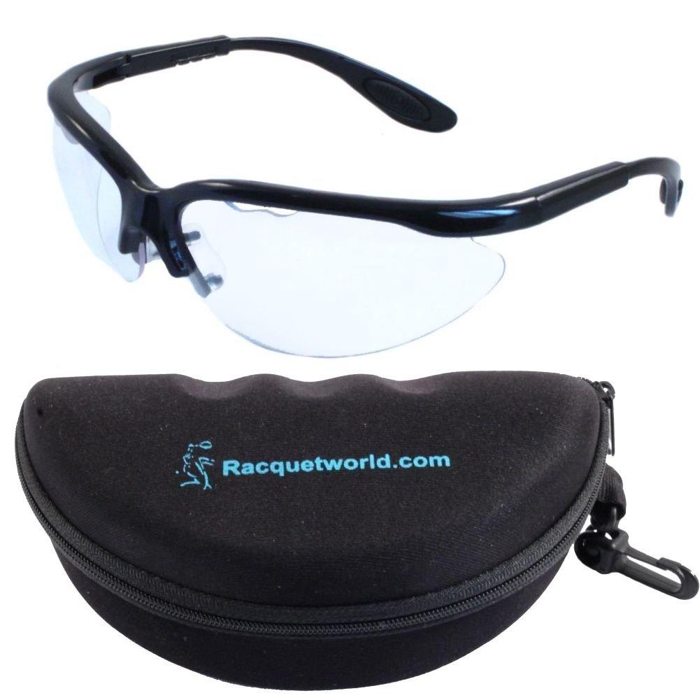 Python Xtreme View Racquetball Eyeguard (Eyewear/Eye Protection) (w/ CASE)